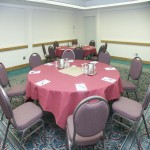 This is a typical meeting room